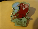Disney Trading Pins 34378 DLR - The Lion King (Pumbaa & Timon)