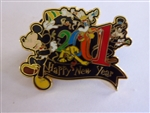 Disney Trading Pin  3440 Happy New Year - 2001 - WDW