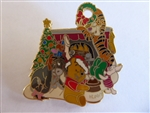 Disney Trading Pin 35001 WDW - Winnie the Pooh - Happy Holidays