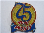 Disney Trading Pins 36165: DCA - Mickey's 75th Pin Quest (Chaser Pin)