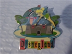 Disney Trading Pin  36974 Retro Collection - 50th Anniversary (Tinker Bell with Castle)
