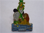 Disney Trading Pin 38153 WDW - Epcot International Flower & Garden Festival 2005 - Passholder Exclusive (Lion King)