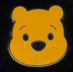 Disney Trading Pin 40956: Cute Characters - Winnie the Pooh - Face