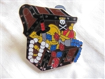 Disney Trading Pins 43205: WDW Cast Lanyard Collection 4 - Pirates of the Caribbean (Treasure Chest)