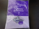 Disney Trading Pin 43270: WDW - Cast Exclusive - Disney Difference