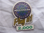 Disney Trading Pin 4564 Who Wants to Be a Millionaire: Play it! Set (2000 Points)