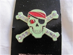 Disney Trading Pin 47937: Pirates of the Caribbean - Jeweled Skull and Crossbones