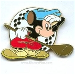 Disney Trading Pin Mickey Through the Years Canine Caddy
