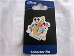 Disney Trading Pin  49077: Jerry Leigh - Florida - Fab 6 Group