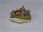 Disney Trading Pins 51112 DLR - Where Dreams Come True - Disneyland Resort - Storybook Logo
