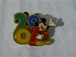 Disney Trading Pin 52101: WDW - Starter Set - Dated 2007 - Mickey Only