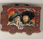 Disney Trading Pins Pirates of the Caribbean - At World's End - Captain Barbossa and Davy Jones