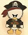 Disney Trading Pins Pirates of the Caribbean - Cute Characters - Donald