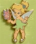 Disney Trading Pin Toddler Tinker Bell -w/ Butterfly