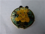 Disney Trading Pin 5646 WDW - Zodiac POM Series - July 2001 - Leo - Simba