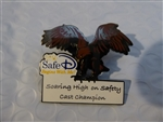 Disney Trading Pin 58043 WDW - Safe D Begins With Me - 2006 Cast Champion