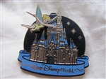 Disney Trading Pin 58797: Cinderella Castle - Tinker Bell - 2007