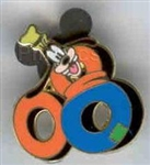 Disney Trading Pin 58965: Mickey and Friends ''2008'' - 5 Pin Boxed Set - Goofy 08 Only