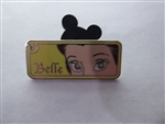 Disney Trading Pins Hidden Mickey 2007 Series 2 - Rear View Mirror Series - Belle