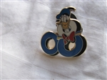 Disney Trading Pin 59909: Mickey and Friends ''2008'' - 5 Pin Boxed Set - Donald Duck ''08'' Only