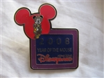 Disney Trading Pin 61016: HKDL - 2008 - Year of the Mouse (Mickey Mouse)