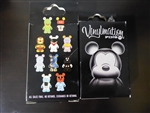 Disney Trading Pin 63499 Vinylmation Mystery Pin Collection - Park/Urban #1 (Sealed 2 Pin Set)