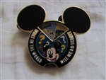 Disney Trading Pins 65916: WDW - Create-A-Pin - What In the World Will We Do Today? - Disney's Hollywood Studios Variant (Spinner)