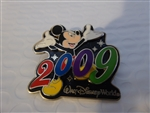 Disney Trading Pins   67184 WDW - Dated 2009 - Mickey Mouse