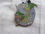Disney Trading Pin 67946: Tinker Bell 4 Pin Booster Set - (Tinker Bell Flying with Butterfly Only)