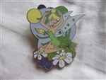 Disney Trading Pin 67948: Tinker Bell 4 Pin Booster Set - (Tinker Bell Sitting and Fixing Hair Only)