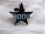 Disney Trading Pin 68223: WDW - Varsity Icons Mystery Pouch - 2 Pin Set - Blue 2009 Star Only