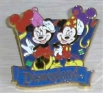 Disney Trading Pin Travel Company Celebrate Mickey & Minnie Pin