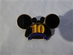 Disney Trading Pin  72227 Disney Pin Trading 10th Anniversary - Ear Hat