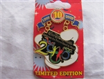Disney Trading Pin 73437: WDW - Disney Pin Trading 10th Anniversary - Tribute Collection - Millennium 2000