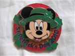 Disney Trading Pins 75268: St. Patrick's Day 2010 - Mini-Pin Collection - Minnie Mouse Only