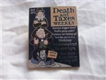 Disney Trading Pin 76623: Haunted Mansion Magazines - Death and Taxes Weekly