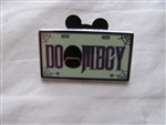 Disney Trading Pin  78393 DLR - Mini-Pin Collection - Attraction Vehicle License Plate Frame (DOOMBGY)