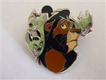Disney Trading Pin Villains Scar, Shenzei, Banzai, and Ed