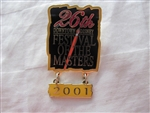 Disney Trading Pin 8047 Festival of the Masters 26th Annual - 2001 (Paintbrush Dangle)