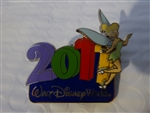 Disney Trading Pin WDW - 2011 - Tinker Bell Pin on Pin