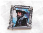Disney Trading Pin 83678: Disney Pirates of the Caribbean: On Stranger Tides - Booster Collection - Captain Blackbeard Only