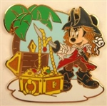 Disney Trading Pin Disney Pirates Starter Set - Minnie