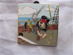 Disney Trading Pins 83691 Disney Pirates Mystery Box Set - Swashbuckling Mickey as Jack Sparrow Only