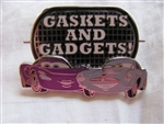 Disney Trading Pins 84071: Disney-Pixar Cars 2 - Mystery Set - Gaskets and Gadgets!