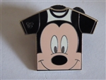 Disney Trading Pin WDW - 2011 Hidden Mickey Series - T-Shirt Collection - Mickey Mouse