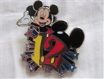 Disney Trading Pin 87890: Accessory - Starter Set - 2012 - Mickey