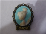 Disney Trading Pins 88137 Tinker Bell Birthstone Cameo Collection 2012 - March