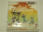 Cool Characters - 7 Mini-Pin Collection