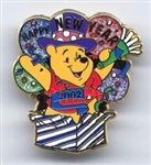 12 Months of Magic - Happy New Year 2002 (Pooh)
