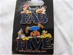 Disney Trading Pin 89578: 'Fab Five' Letter - 2 Pin Set